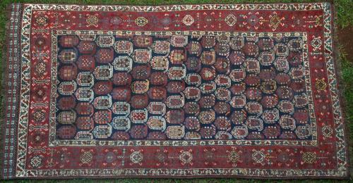 Antique Khila Chila Baku Caucasian rug