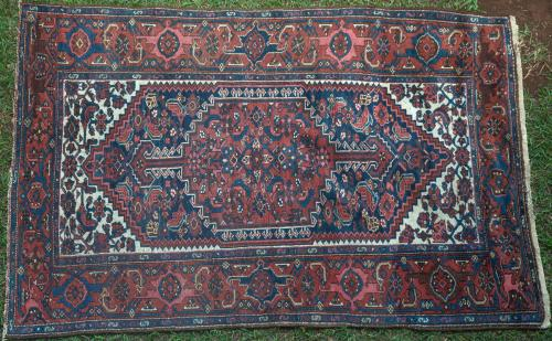 Old Bidjar Kurdish Persian Rug