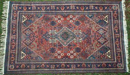 Old Meimeh or Joshagan Persian Rug