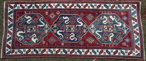 Antique Chondzoresk Karabagh Caucasian Rug