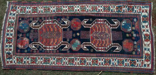 Antique Lenkoran Talish Azerbaijan Caucasian Rug
