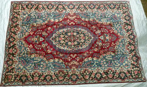 Old Kerman Persian carpet