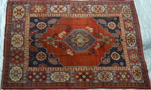Antique Ushak Turkish Carpet