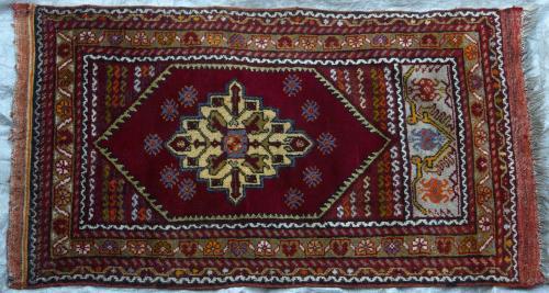 A delightful Turkish Prayer Rug Kayseri