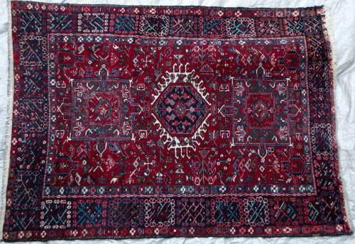 Anitique Karaja or Karadja Persian Rug