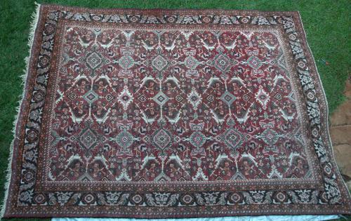 Antique Sultanabad Persian Carpet
