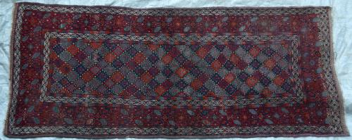 Antique Baluch Taimuri Mushwani Tribal Runner Persia