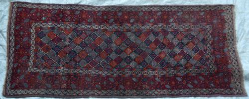 Antique Baluch Taimuri Mushwani Tribal Runner Persia