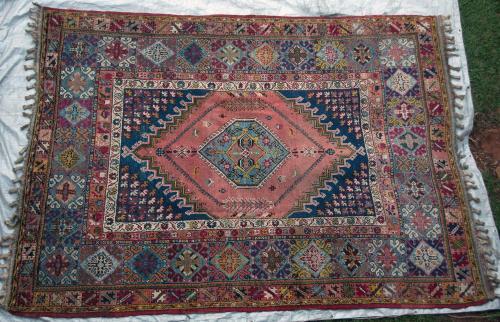 Antique Morrocan Rabat Carpet