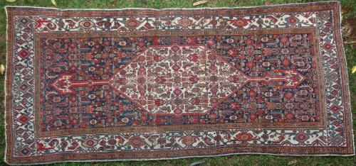 Antique Tekab-Bijar Persian Rug
