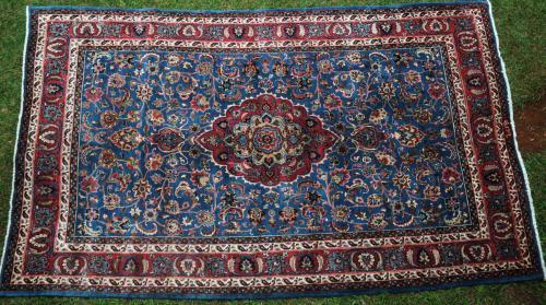 Old Mashad Khorossan Persian Carpet