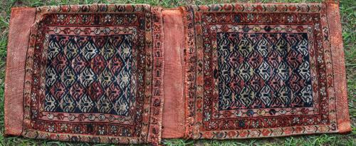 Antique Daghestan Caucasian possibly Kurdish saddle-bag