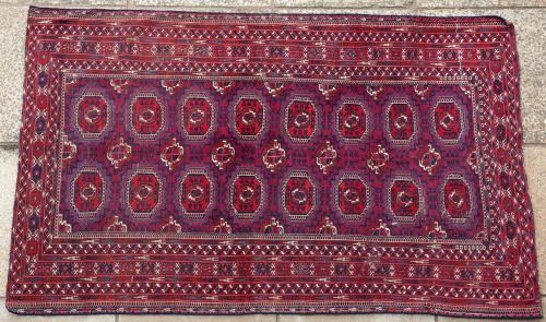 Antique Tekke Turkoman Rug