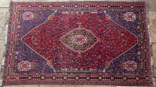 Old Qashqa'i Persian tribal rug