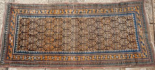 Old Kurdish Persian long rug