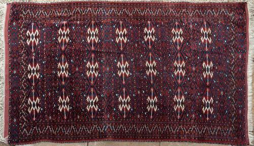 Old Yomut Turkoman Rug West Turkestan