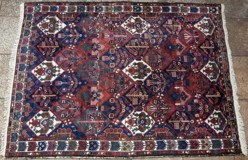 Old Bakhtiari Persian Carpet